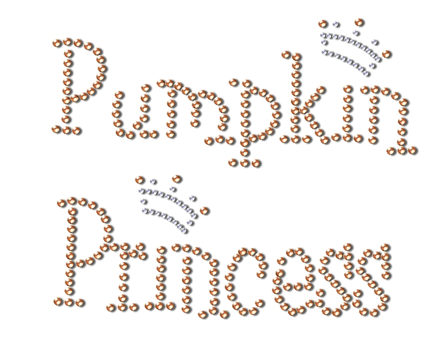 PUMPKINPRINCESS INCRYSTALS