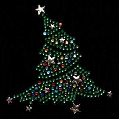 CHRISTMASTREEWITHSTARS